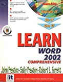 Learn Word 2002 Comprehensive (0130097268) by Preston, John