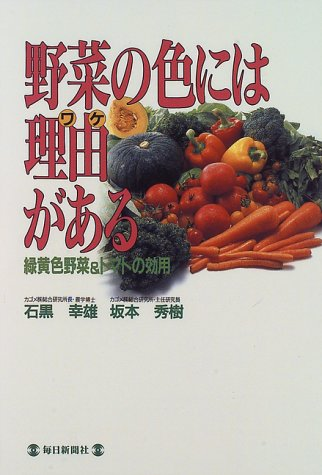 野菜の色には理由がある