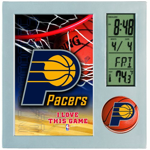 NBA Indiana Pacers Digital Desk Clock