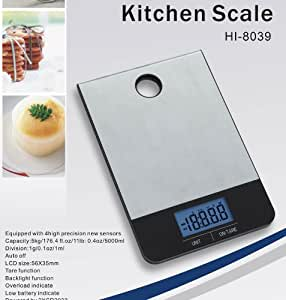 Homeimage professional stainless steel surface for How much is a kitchen scale