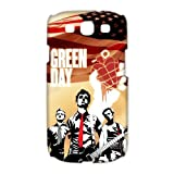 Music Band Green Day Samsung Galaxy S3 I9300/I9308/I939 Case Covers Rock Band Billie Joe Armstrong Mike Dirnt Tre Cool Jason White Red/Green Galaxy s3 Case