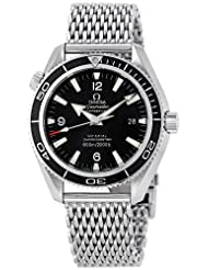 Omega Men's 2201.52.00 Seamaster Planet Ocean Black Dial Watch