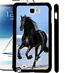 ColourCraft Horse Design Back Case Cover for SAMSUNG GALAXY NOTE 2 N7100