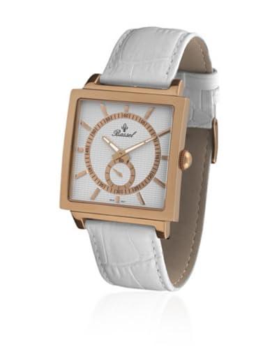 Bassel Reloj con movimiento cuarzo suizo CR3029R Blanco 42  mm