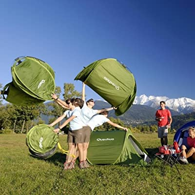 DECATHLON 2 Seconds Pop Up Easy-to-carry Tent 2 Person