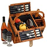 Picnic Plus Lenox 2 Person Picnic Basket