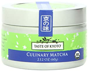 TASTE OF KYOTO Matcha Green Tea, Culinary, 2.12 Ounce from TASTE OF KYOTO