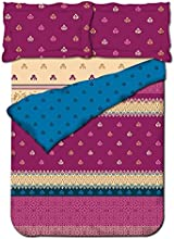 Big Bazaar DL Satin Printed Double Comforter, DSN-03 1000019022003