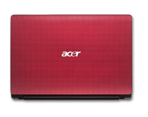 Acer Aspire One 753 11.6 inch HD Netbook (Intel Celeron U3600, 4GB, 500GB, Bluetooth, Webcam, 6hrs battery life, Windows 7 Home Premium) - Mesh Red