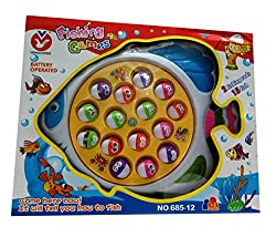Shop & Shoppee Battery Operated Fishing Game For Kids