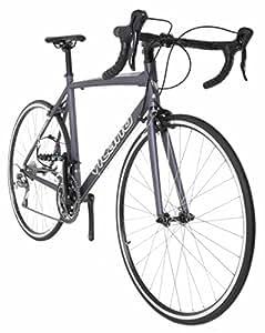 Vilano FORZA 2.0 Aluminum Carbon Shimano Tiagra Road Bike, Matte Grey, 49cm/Small