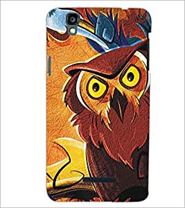 MICROMAX YU YUREKAPLUS PLUS OWL Designer Back Cover Case By PRINTSWAG