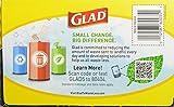 Glad Large Trash Bags, 30 Gallon 40 bags