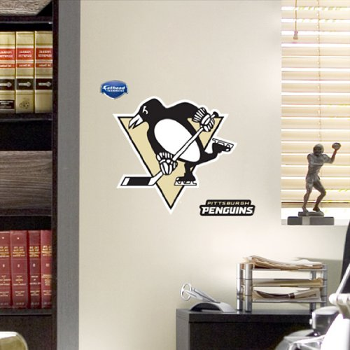 NHL Pittsburgh Penguins Fathead Logo