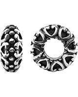 Storywheels Charm Silver Plain Wheel (1 Piece)