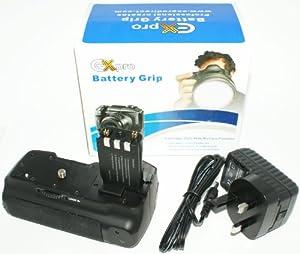 Ex-Pro® Power Grip Canon BG-E3 (NB-2LH) Series for Canon EOS 350D, 400D, built-in (Integral) Lithium 2100mAh Power Pack (Eqivalent to 3 x NB-2LH)