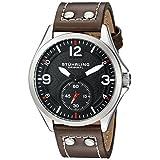 Stuhrling Original Men's 684.01 Tuskegee Analog Display Quartz Brown Watch