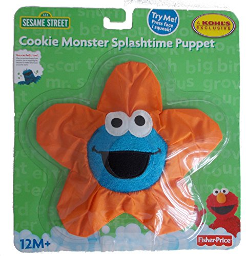 Cookie Monster Splashtime Puppet - 1