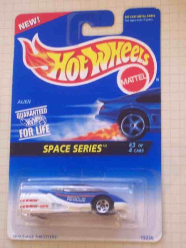 Space Series #3 Alien With HW Logo On Side #390 Collectible Collector Car Mattel Hot Wheels