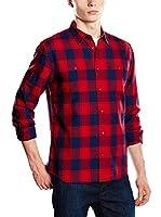 Wrangler Camisa Hombre (Rojo / Azul)