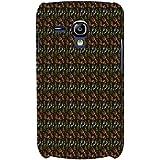 For Samsung Galaxy S3 Mini I8190 :: Samsung I8190 Galaxy S III Mini :: Samsung I8190N Galaxy S III Mini Foot Print Pattern ( Foot Print Pattern, Foot Print, Pattern, Nice Pattern ) Printed Designer Back Case Cover By FashionCops