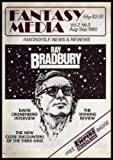FANTASY MEDIA - Volume 2, number 3 - August September 1980: The Man from the October Country - Bradbury at Sixty; David Cronenberg