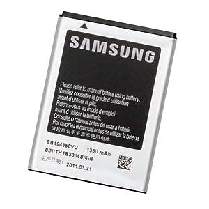 Samsung EB494358VUCSTD - Batería de ion de litio (1350 mAh) para S556/S5830