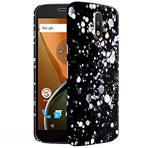 Theskinmantra Patches Back cover for Moto G4 PLus