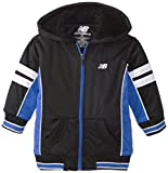 New Balance Little Boys Color Block Tricot Sherpa Lined Hoodie