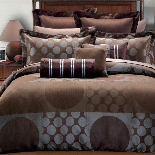 Egyptian Bedding Marianna 7PC California King Size Duvet covers set