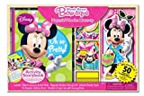 Artistic Studios Minnie Mouse Magnetic Dress-Up and Storybook Set (50-Piece)