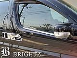 【BRIGHTZ エルグランド E51系 超鏡面クロームメッキステンレスウィンドウモール 2PC】
