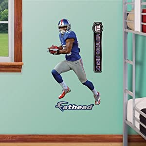 NFL New York Giants Victor Cruz Junior Wall Graphics by Fathead