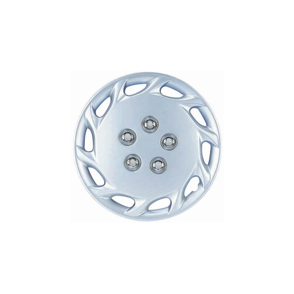 Drive Accessories KT 877 14S/L, Toyota Corolla, 14 Silver Replica Wheel Cover, (Set of 4)