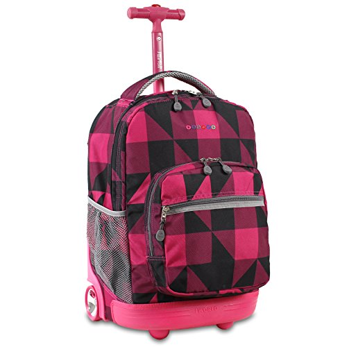 j-world-move-out-rolling-backpack-black-pink-one-size