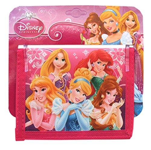 WeGlow International Disney Princess Bi-Fold Wallet (Set of 3)