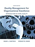img - for Quality Management for Organizational Excellence: Introduction to Total Quality (8th Edition) book / textbook / text book