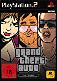GTA Trilogy (San Andreas+Vice City+GTA 3) (PS2) (USK 18)