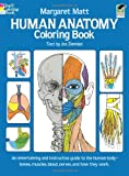 img - for Human Anatomy Coloring Book (Dover Children's Science Books) book / textbook / text book