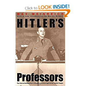Hitler&#39;s Professors