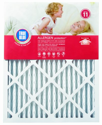 True Blue 320361.4 Allergen 20-Inch by 36-Inch by 1-Inch Air Filter, 4-Pack (Furnace Filters 20x36x1 compare prices)