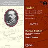Charles-marie widor the romantic piano concerto (volume 55)