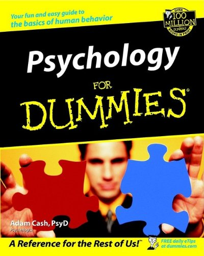 Psychology For Dummies: Adam Cash: 9780764554346: Amazon.com: Books