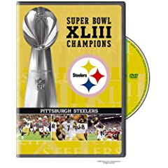 NFL Super Bowl XLIII: Pittsburgh Steelers Champions DVD