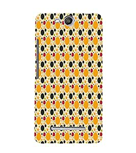Button Pattern 3D Hard Polycarbonate Designer Back Case Cover for Micromax Canvas Juice 3+ Q394 :: Micromax Canvas Juice 3Plus Q394