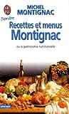 RECETTES ET MENUS MONTIGNAC T01