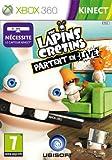 Les lapins crétins : partent en live (Jeu compatible Kinect)