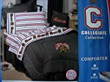College Bedding Collection: University of Maryland Queen Comforter & Sheet  ....