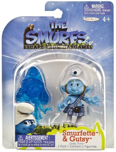 Picture of Jakks Pacific Smurfette & Gutsy: The Smurfs Escape from Gargamel 2.5
