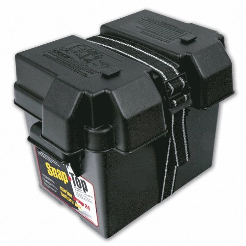 NOCO HM300BKS Group 24 Snap-Top Battery Box for Automotive, Marine, and RV Batteries